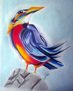 Multicolored Bird