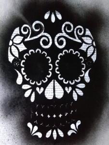 Dark Mexican Skull