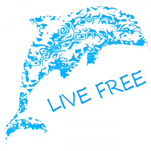 Live Free Dolphin