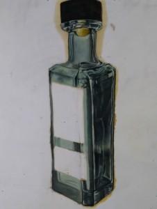 Bottle of Mezcal
