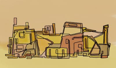 Desert City Ruins