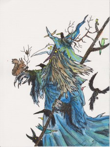 Korpiparta & Squirrel Wizard