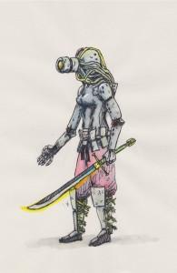 Cyborg Kunoichi