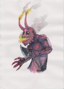Fire Breathing Demon