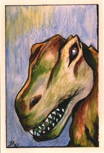 Vibin' Dinosaur