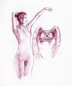 Dancing With an Owl