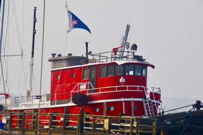 Red Tug Boat