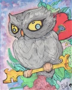 Cautious Owl