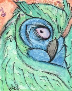 Stern Owl