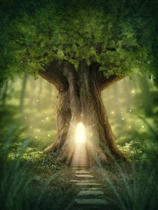 Glowing Tree Of Life