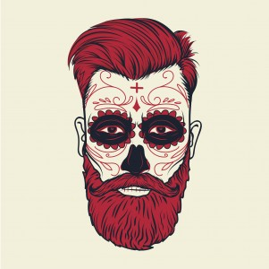 Hipster Skull