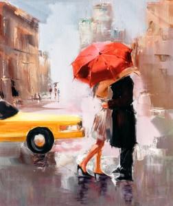 Rainy Day New York