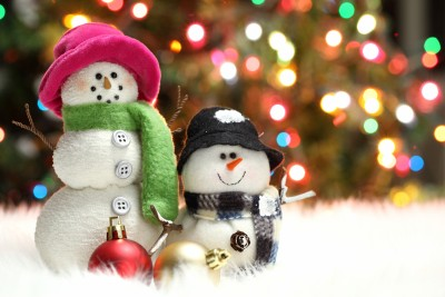 Smiling Snowmen