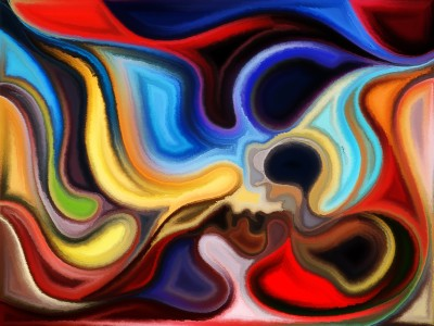 Swirling Faces