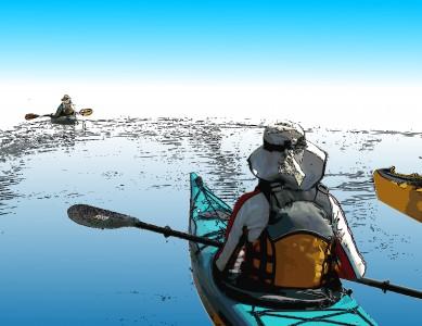 Venturing Kayakers