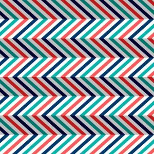 Zigzag Chevron Bright