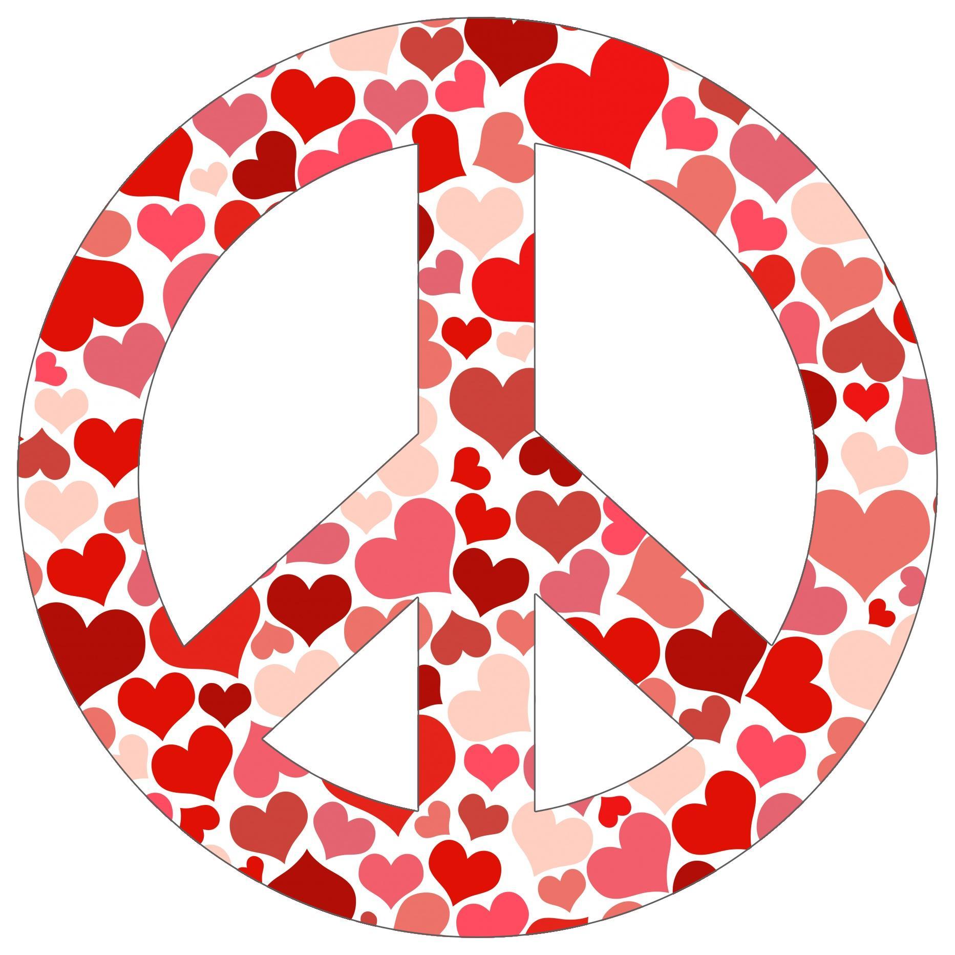 Peace sign 6