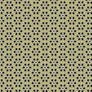 Moroccan Rosette Golden