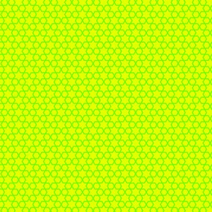 Moroccan Star Neon Yellow