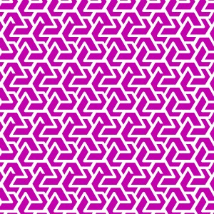 Zig Zag  Hot Pink