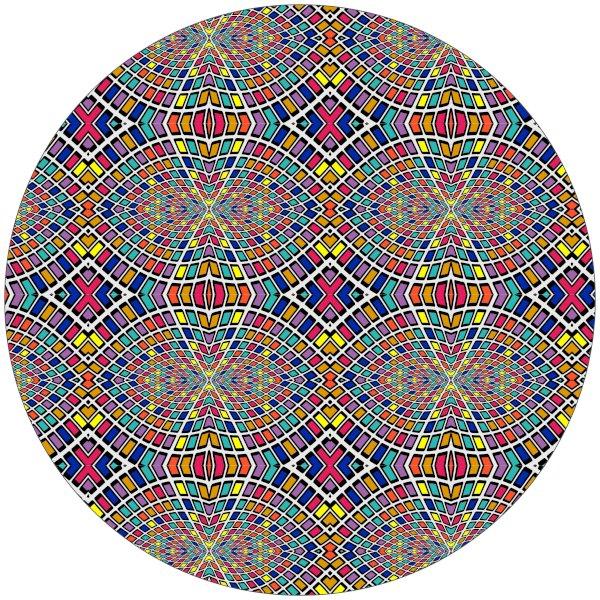 """14"""" Circle Sticker Shape"""