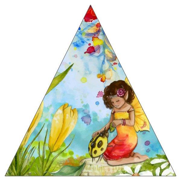 "4"" Triangle Sticker Shape"